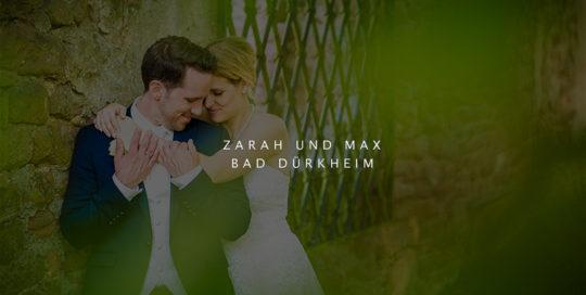 Hochzeit von Zarah und Max in Bad Dürkheim